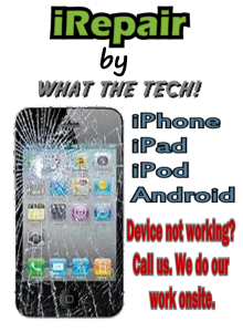 Broken iPhone, iPod or iPad, no problem